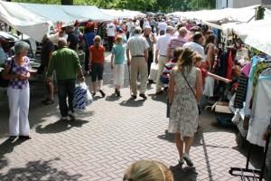 De rommelmarkt in Oisterwijk