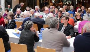 De ouderenmiddag in de Coppele in Oisterwijk.