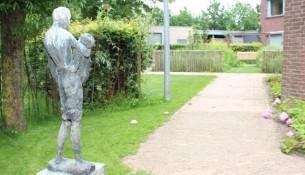 Oisterwijk heeft bij De Vloet een Alzheimertuin voor mensen met dementie