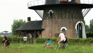 Fietsen door Oisterwijk en omgeving. (foto Joris van der Pijll)