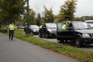 Politie informeert automobilisten over hun actie in Oisterwijk