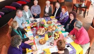 Eerste gesprekstafel tijdens de Week van de Dialoog in Oisterwijk.