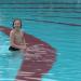 De eerste zwemmer van 2014 in Het Staalbergven in Oisterwijk