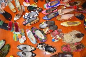 Moergestel heeft een rijk schoenenverleden. Vandaag de dag is het dorp wereldberoemd door de schoenen die er vandaan komen. De Stichting WieKentKunst organiseert rond het thema Moergestel Schoenendorp een groots evenement. (Foto: Paul Spapens)