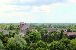 Een blik op de Joanneskerk en parochie. (foto Joris van der Pijll)