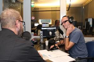 Meepraten kon al bij Moergestel Radio, iedere week een andere gast... (Foto: Joris van der Pijll)