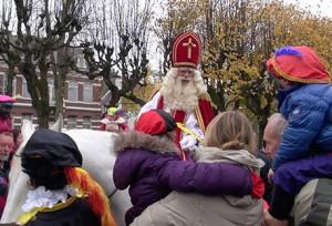 aankomst sinterklaas in Oisterwijk