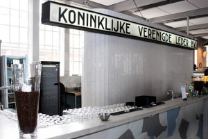 De horeca van de KVL (Foto: Joris van der Pijll)