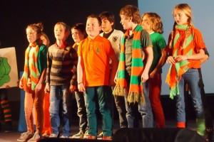 Ook dit jaar zingen weer zo'n 200 leerlingen tijdens het afsluitende festival van Kènderkwèèk.