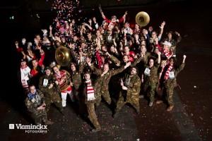 De Kloontjes met carnaval in Oisterwijk (Foto: Masja Vlaminckx).