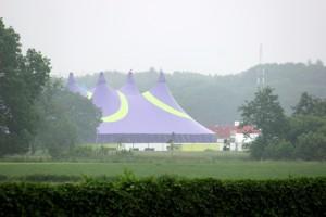 Intents Festival Oisterwijk 2016 vanuit het landschap van Heukelom (Foto: Joris van der Pijll).