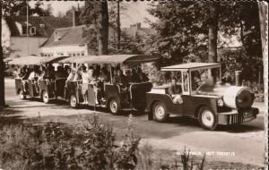 Het oude treintje uit 1954