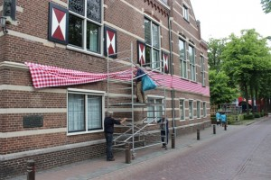 Eeen voorproefje uit 2013, bij de komst van het koningspaar (Foto: Joris van der Pijll).