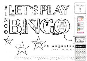 Bingo in de wijk Waterhoef Oisterwijk