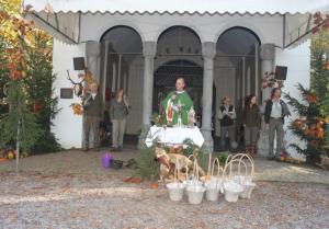 De Hubertusviering bij de Heilige eik in Oirschot.