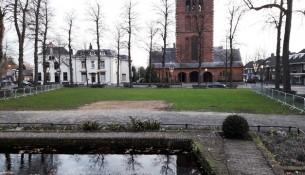 De locatie voor de ijsbaan Oisterwijk On Ice in Oisterwijk (Foto: Joris van der Pijll).