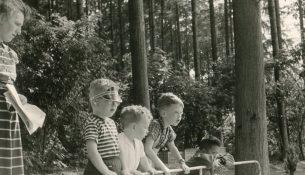 familie Spier op bezoek bij heer Bommel